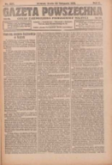 Gazeta Powszechna: organ Zjednoczenia Producentów Rolnych 1921.11.30 R.2 Nr257