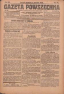 Gazeta Powszechna: organ Zjednoczenia Producentów Rolnych 1923.08.12 R.4 Nr182