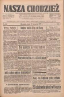 Nasza Chodzież: dziennik poświęcony obronie interesów narodowych na zachodnich ziemiach Polski 1933.09.13 R.4 Nr210