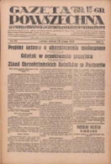 Gazeta Powszechna: wychodzi codziennie z czterema dodatkami tygodniowemi 1929.02.26 R.10 Nr47