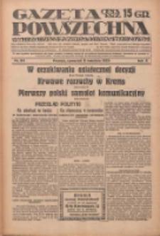 Gazeta Powszechna: wychodzi codziennie z czterema dodatkami tygodniowemi 1929.04.11 R.10 Nr84