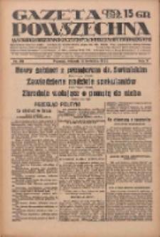 Gazeta Powszechna: wychodzi codziennie z czterema dodatkami tygodniowemi 1929.04.16 R.10 Nr88
