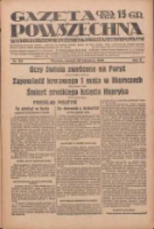 Gazeta Powszechna: wychodzi codziennie z czterema dodatkami tygodniowemi 1929.04.23 R.10 Nr94