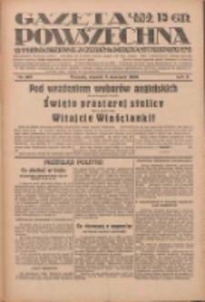 Gazeta Powszechna: wychodzi codziennie z czterema dodatkami tygodniowemi 1929.06.04 R.10 Nr126
