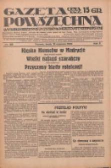 Gazeta Powszechna: wychodzi codziennie z czterema dodatkami tygodniowemi 1929.06.12 R.10 Nr133