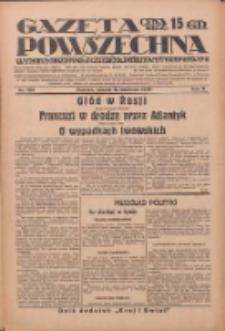 Gazeta Powszechna: wychodzi codziennie z czterema dodatkami tygodniowemi 1929.06.15 R.10 Nr136