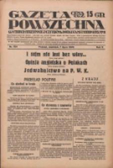 Gazeta Powszechna: wychodzi codziennie z czterema dodatkami tygodniowemi 1929.07.07 R.10 Nr154