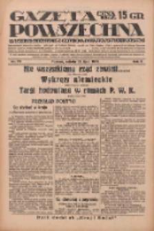 Gazeta Powszechna: wychodzi codziennie z czterema dodatkami tygodniowemi 1929.07.27 R.10 Nr171