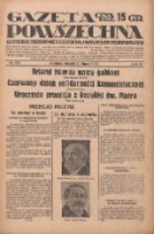 Gazeta Powszechna: wychodzi codziennie z czterema dodatkami tygodniowemi 1929.07.30 R.10 Nr173