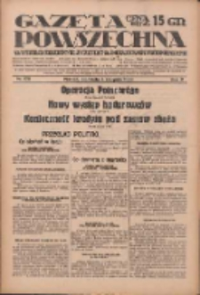 Gazeta Powszechna: wychodzi codziennie z czterema dodatkami tygodniowemi 1929.08.04 R.10 Nr178