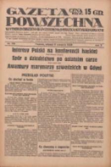 Gazeta Powszechna: wychodzi codziennie z czterema dodatkami tygodniowemi 1929.08.06 R.10 Nr179