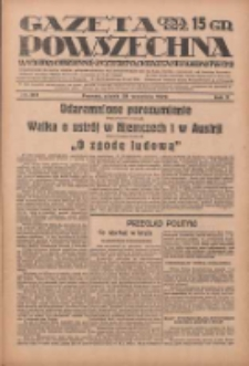 Gazeta Powszechna: wychodzi codziennie z czterema dodatkami tygodniowemi 1929.09.20 R.10 Nr217