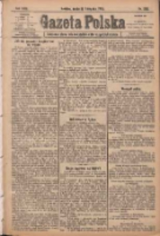 Gazeta Polska: codzienne pismo polsko-katolickie dla wszystkich stanów 1920.11.17 R.24 Nr265