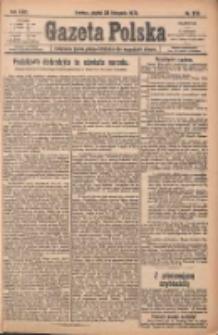 Gazeta Polska: codzienne pismo polsko-katolickie dla wszystkich stanów 1920.11.26 R.24 Nr273
