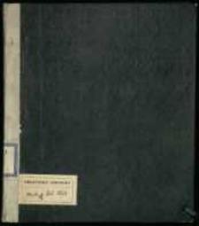 Materiały z lat 1768-1771, m. in. dotyczące Konfederacji Barskiej