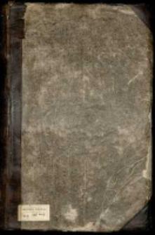 Odpisy akt i korespondencji w sprawach publicznych z lat 1749-1753