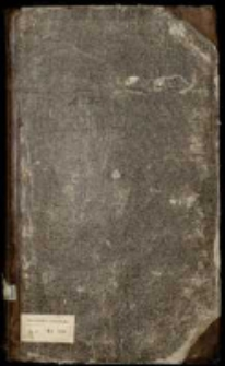Silva rerum głównie z czasów Augusta II, z diariuszem sejmu