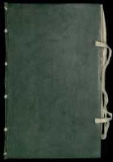 Summariusz kopiy listownych y inszych [...], który dzieli się na cztery części [...] zaczęty Roku Pańskiego 1652