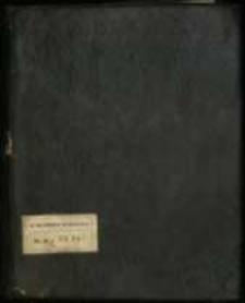 Silva rerum z w. XVIII. Listy, mowy, wiersze z czasów Sobieskiego i Augusta II