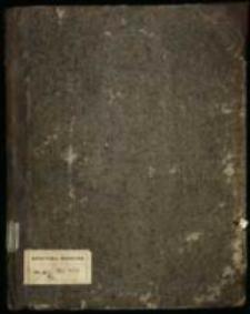 Pisma rożne tyczące się sprawy o ordynację Ostrogskę[!] za panowania Augusta III około 1754 roku