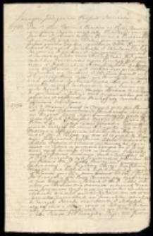 Kolekcja akt i korespondencji z lat 1733-1778. Vol. 1
