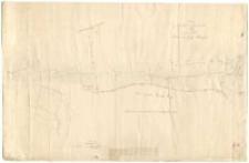 Auszug aus der Karte mit folgendem Titel Plan von den Dörfern Klein und Gross Kempa.