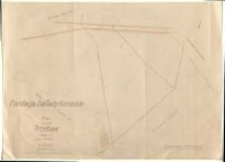 Fundacja Zakłady Kórnickie. Plan majątku Trzebaw (część 2) powiat Poznań. Sporządzono w r. 1946 na podstawie zrektyfikowanej mapy katastralnej