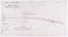 Lage und Grenz-Plan in der Feldmark Kijewo und Zrenica [...] Aufgenommen im [...] 1875 durch [...] E. Evert [...].