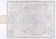 """Haupt plan zu Woerl's Reisehandbüchern """"Paris""""."""