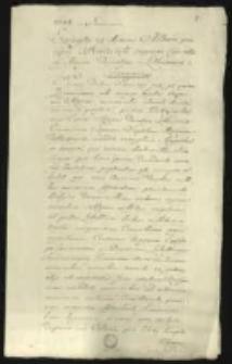 Excerpta ex diario Alberti principis Radzivilii [...] 1644-1650