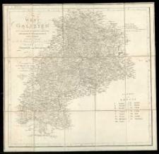 West-Galizien [...] aufgenommen unter der Leitung [...] von Metzburg. Gez. durch Joh[ann] v. Lichtenstern. Gestoch. von. Ch. Junker.