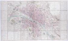 Plan routier de la ville de Paris et de ses faubourgs [...] par Ch[arl]es Picquet.