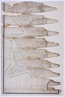 Plan in Brouillon von denen zu der Herrschraft Kórnik [...] gehärigen [...] Bierna[tki] und Pruszinowo. Aufgenommen im Jahr 1778 [durch] A. Grund.