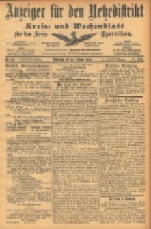 Anzeiger für den Netzedistrikt Kreis- und Wochenblatt für den Kreis Czarnikau 1902.02.27 Jg.50 Nr24