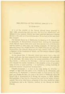 The Journal of the Kórnik Library No 6. Summary. Pamiętnik Biblioteki Kórnickiej Z. 6.