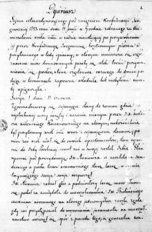 Dyariusz Seymu extraordynaryjnego pod zwiąskiem Konfederacyi Targowickiej 1793. roku dnia 17 junji w Grodnie zebranego za Uniwersałami króla imci w radzie nieustającej po przywróceniu jej przez Konfederacyą Targowicką bezstronnym piórem od przytomnego w tedy spisany; w którym umieszcza się część znaczna mów drukowanych pisały się atoli treści przymawiania się posłów, które częstokroć rozwaga do druku podając w terminach zapewne osłodziła lub niebyłemi kwiaty upiększyła