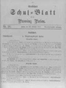 Amtliches Schul-Blatt für die Provinz Posen 1911.10.20 R.44 nr20
