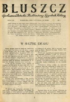 Bluszcz. Społeczno literacki ilustrowany tygodnik kobiecy 1929.01.05 R.62 nr1