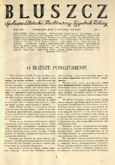 Bluszcz. Społeczno literacki ilustrowany tygodnik kobiecy 1929.01.19 R.62 nr3