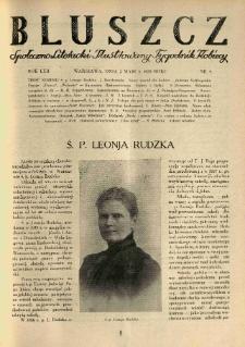 Bluszcz. Społeczno literacki ilustrowany tygodnik kobiecy 1929.03.02 R.62 nr9