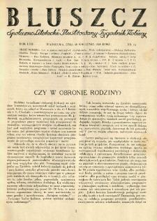 Bluszcz. Społeczno literacki ilustrowany tygodnik kobiecy 1929.04.20 R.62 nr16
