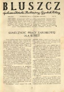 Bluszcz. Społeczno literacki ilustrowany tygodnik kobiecy 1929.08.17 R.62 nr33