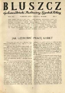 Bluszcz. Społeczno literacki ilustrowany tygodnik kobiecy 1929.09.06 R.62 nr36
