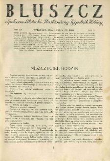 Bluszcz. Społeczno literacki ilustrowany tygodnik kobiecy 1927.03.05 R.60 nr10