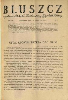 Bluszcz. Społeczno literacki ilustrowany tygodnik kobiecy 1928.01.07 R.61 nr2