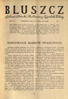 Bluszcz. Społeczno literacki ilustrowany tygodnik kobiecy 1928.01.14 R.61 nr3