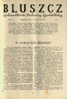 Bluszcz. Społeczno literacki ilustrowany tygodnik kobiecy 1928.02.18 R.61 nr8