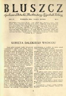 Bluszcz. Społeczno literacki ilustrowany tygodnik kobiecy 1928.03.17 R.61 nr12