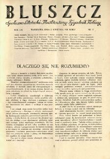 Bluszcz. Społeczno literacki ilustrowany tygodnik kobiecy 1928.04.21 R.61 nr17