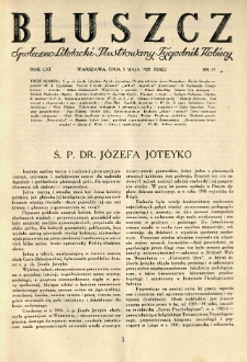 Bluszcz. Społeczno literacki ilustrowany tygodnik kobiecy 1928.05.05 R.61 nr19